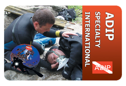 Certification<br>DiveMedic+O2 Instructor